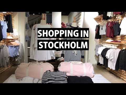 Shopping in Stockholm