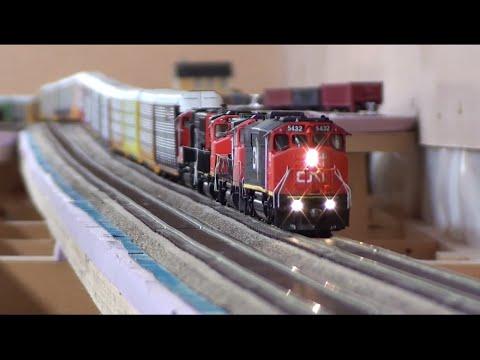 HO Massive Autorack Train