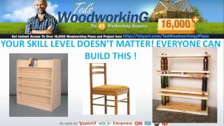 Woodworking Plans - Dining Table Plans