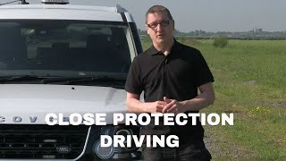Close Protection Driver Course - train to become a security chauffeur