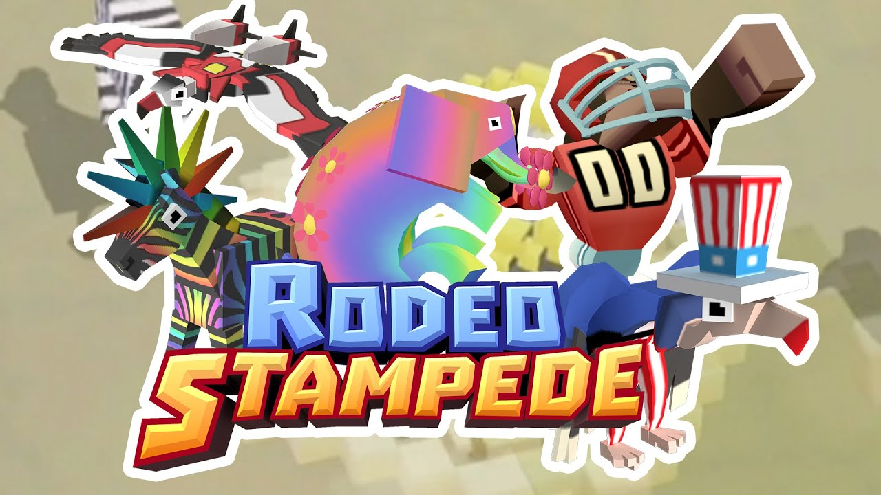 all animals unlocked rodeo stampede fan choice friday youtube