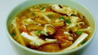 辣酸辣湯 Spicy Hot and Sour Soup: Authentic Chinese Cooking