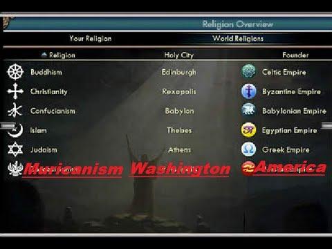 Religion in Civilization 5