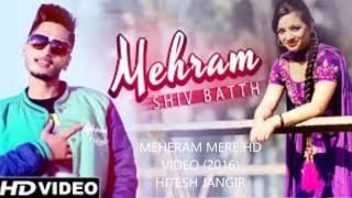 MEHERAM MERE FULL SONG - HAI APNA DIL TOH AWARA / MOHIT  Chauhan / HITESH JANGID  2016