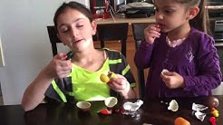 Yeliz' vlog kinder surprise eggs February 22,2015