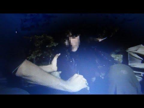 Çorumda mezarlıktaki Gizemli kız yakalandı yeni görüntüsü