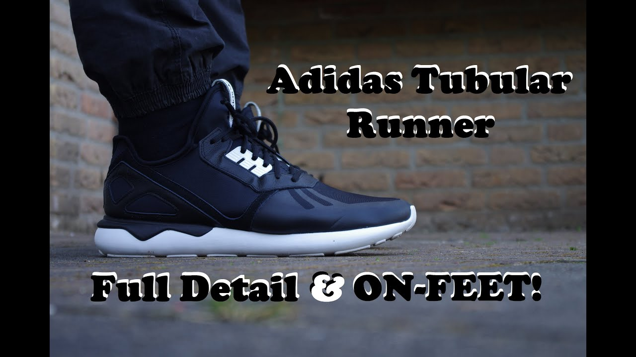 Shop Black adidas Tubular Runner Shoe for Womens by adidas