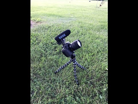 Canon Eos 80D VS Iphone 7 plus With Rode Video Pro Mic
