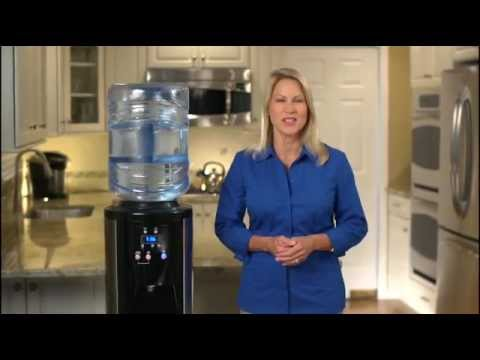 Nestle Waters Premium Digital Stainless Steel Bottled Water Dispenser Cleaning Process