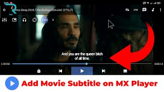 Add Movie Subtitle on MX Player || MX Player Tips 🔥 screenshot 4