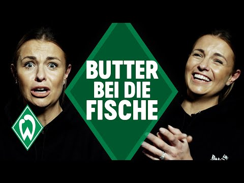 Laura Wontorra - Butter bei die Fische   SV Werder Bremen