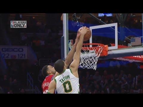 No Kyrie Celtics Beat 76ers! Tatum Dunks on Simmons! 2018-19 NBA Season