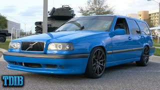 homepage tile video photo for BIG TURBO Volvo 850R Wagon Review! Grandma's 5 Cylinder Fury
