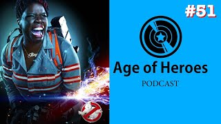 Leslie Jones responds to Ghostbusters 3 | Age of Heroes #51