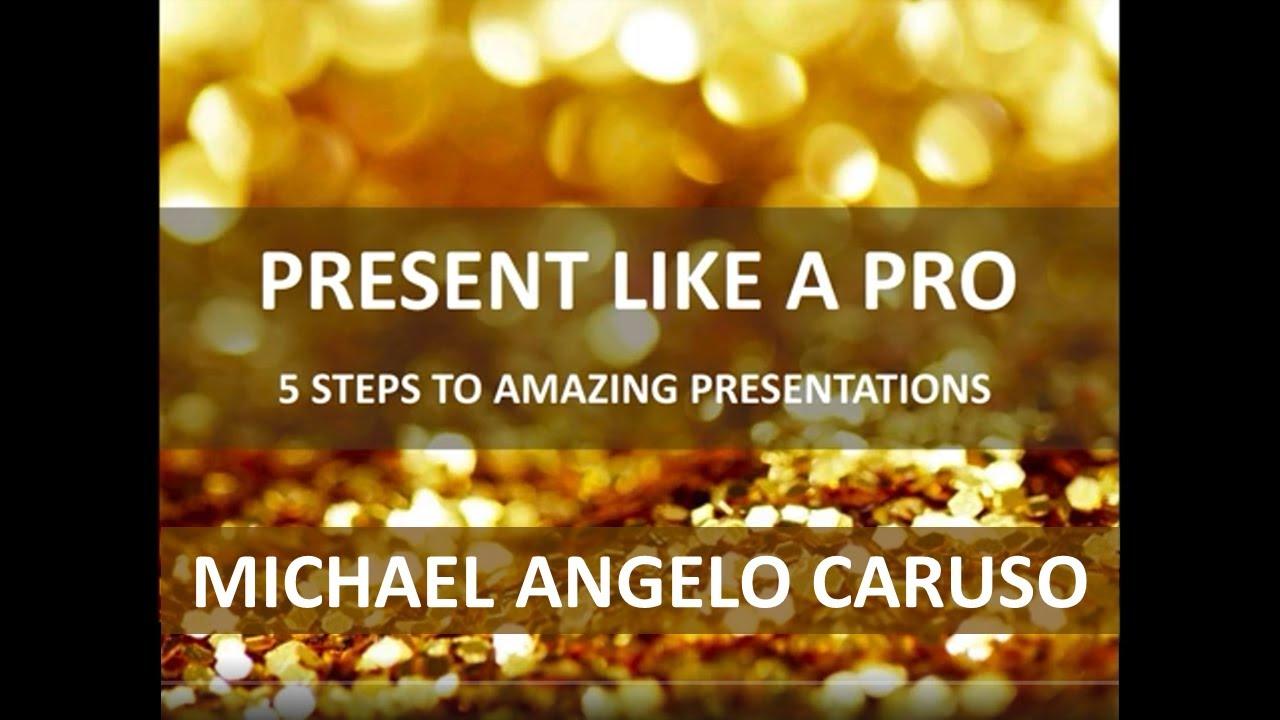 Present Like a Pro!
