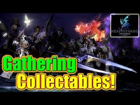 FFXIV Heavensward - Collectables & Ephemeral Nodes / Gathering
