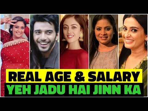 "Real Age and Salary "" Yeh Jadu Hai Jinn Ka "" STAR CAST from YouTube · Duration:  1 minutes 55 seconds"