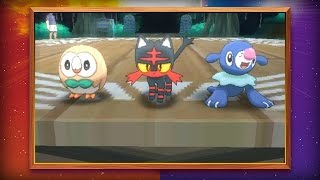 Starter Pokémon for Pokémon Sun and Pokémon Moon Revealed!