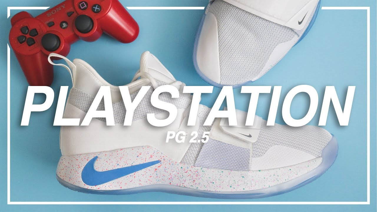 c26fc21f850e PG 2.5  PLAYSTATION  in White - Unboxing Review On-Feet Look - YouTube