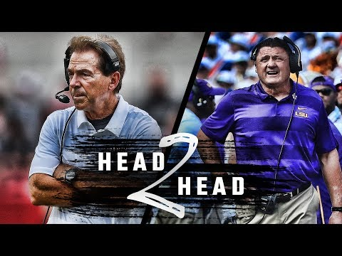 Head to Head: Alabama vs. LSU