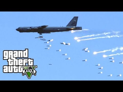 BIGGEST DRUG LORD TAKEDOWN - B-52 HEAVY BOMBER AIRSTRIKE MOD