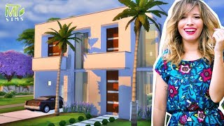 CASA DA TACIELE ALCOLEA (Casa dos Youtubers) │The Sims 4 (Speed Build)