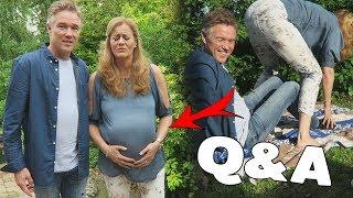 HOEVEEL WEKEN ZWANGER?! & RUZIES IN DE FAMILIE - Q&A