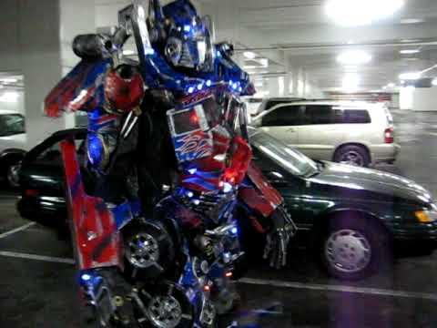 optimus prime adult costume