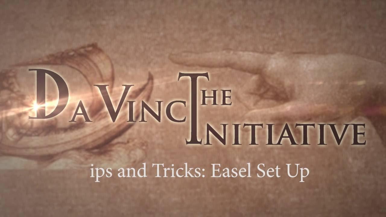 Bargue Lesson 3 - Bonus Tip - Easel Set up