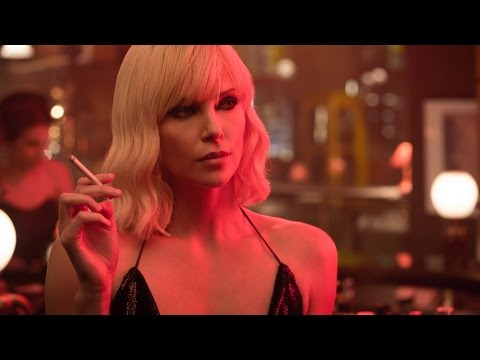 Atomic Blonde ALL RED BAND TRAILERS - Charlize Theron & Sofia Boutella