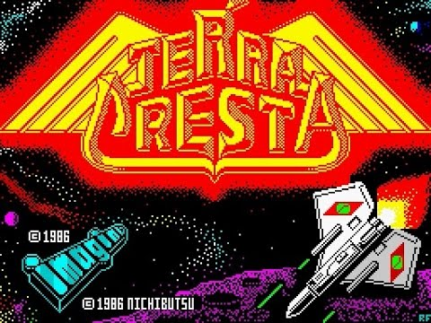 ZX Spectrum Longplay [048] Terra Cresta