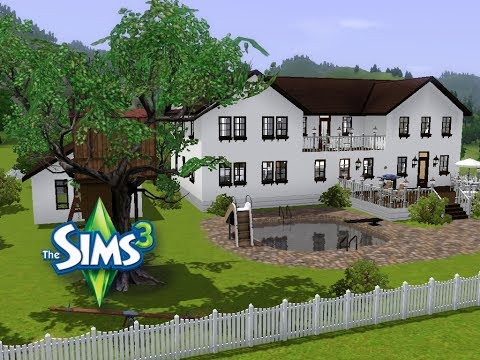 sims 3 haus bauen let 39 s build idyllisches haus f r kleine familie youtube. Black Bedroom Furniture Sets. Home Design Ideas