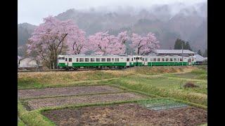 190427 只見線会津中川駅 423D