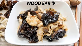Wood Ear Mushroom & Velveted Chicken Stirfry!