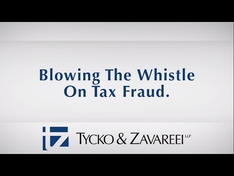 Blowing The Whistle On Tax Fraud