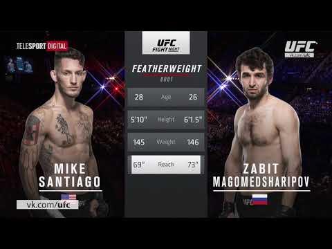 ZABIT MAGOMEDSHARIPOV VS MIKE SANTIAGO