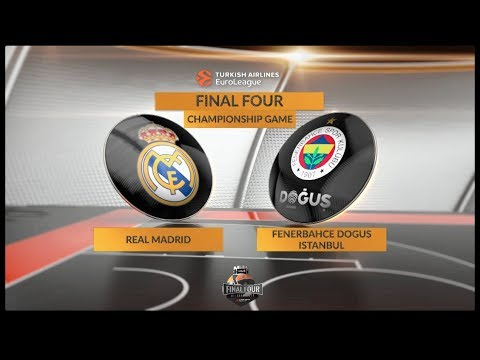#GameOn trailer: Championship Game, Real Madrid-Fenerbahce Dogus Istanbul