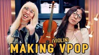 Classical Musicians Make Violin Pop Music!?