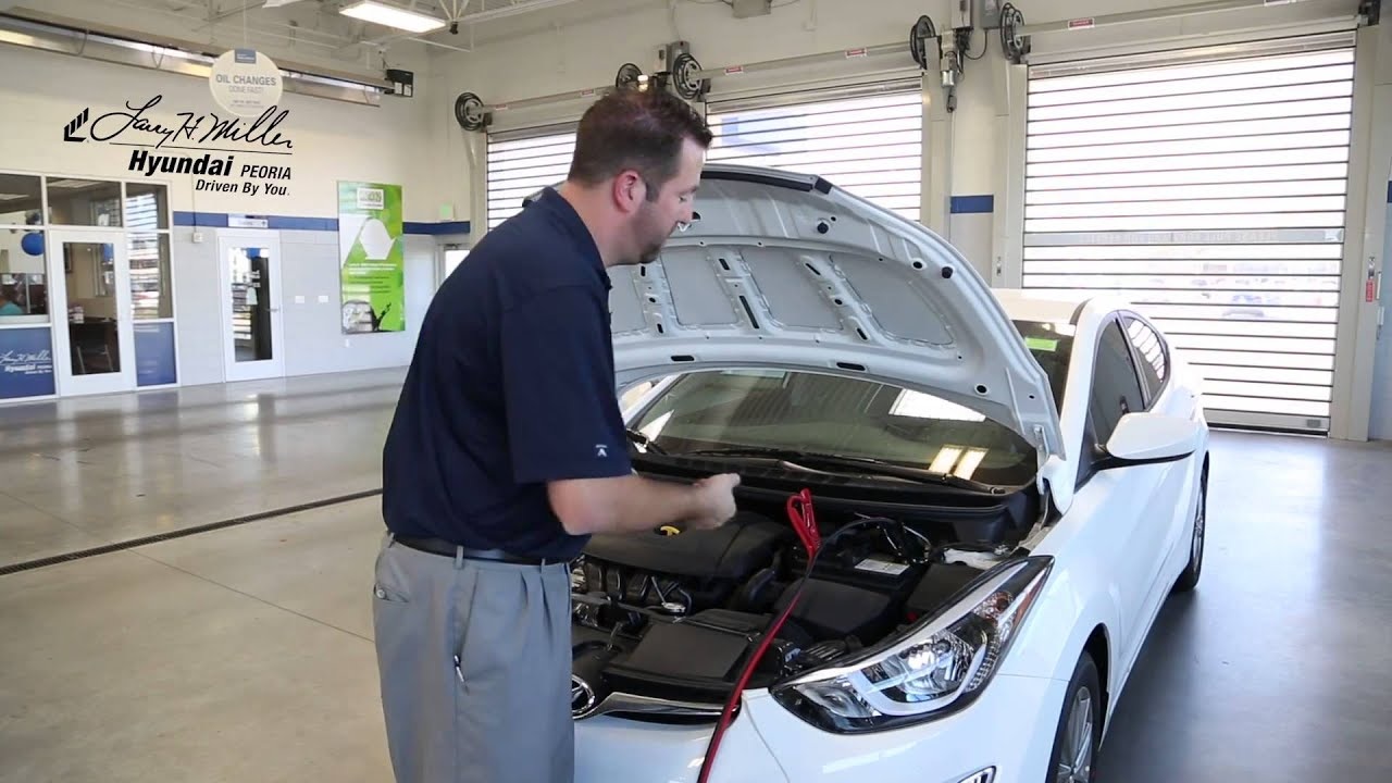 How To Jump Start Your Hyundai Elantra Larry H Miller