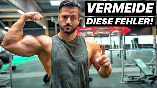 Die 3 größten Muskelaufbau & Bodybuilding Fehler!