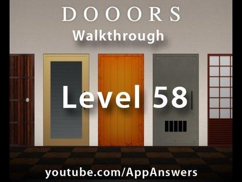 Dooors - Level 58 Walkthrough