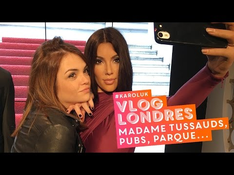 #KarolUK: Madame Tussauds, pubs, Victoria's Secret, rolê no parque • Karol Pinheiro