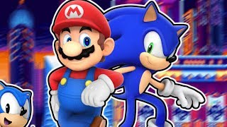 Sonic Mania Extended | Mario & Modern Sonic Join the Cast! (Sonic Mania Mods)
