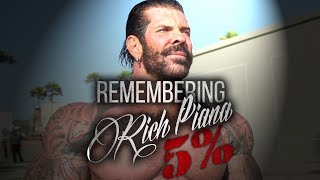 RICH PIANA TRIBUTE | OFFICIAL 1 YEAR MEMORIAL