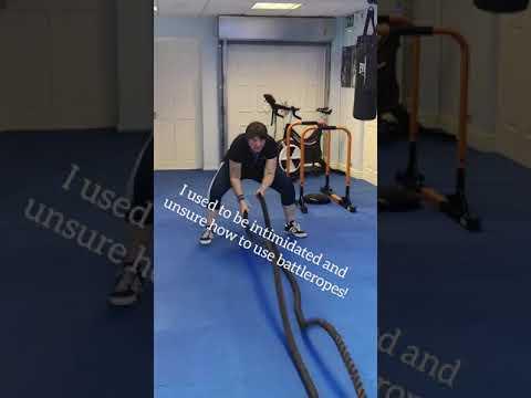 Battlerope exercise routine