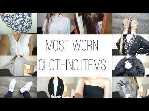 My Most Worn Items of Clothing!