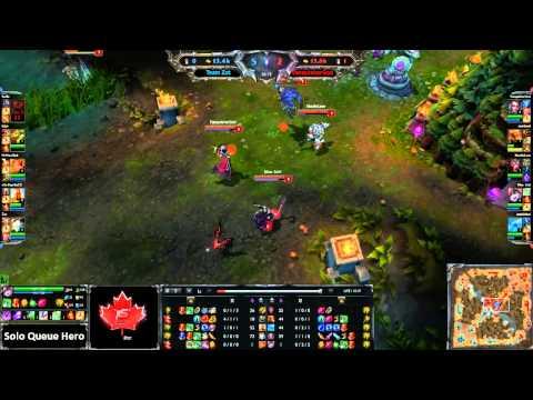 eSportsCanadaTV - Solo Queue Hero - Zot vs VanquisherGod