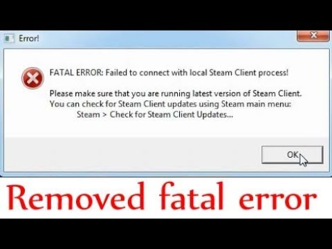 Ue4 Fatal Error Steam