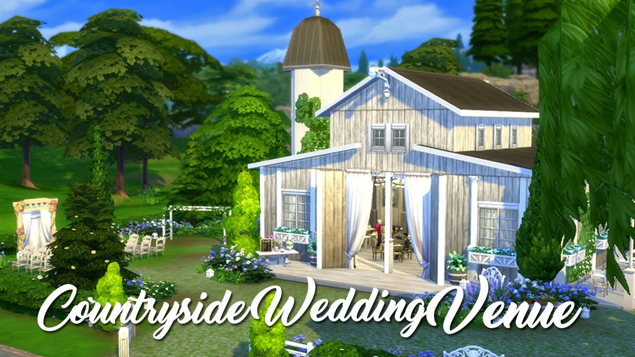Speed Build: Countryside Wedding Venue - YouTube