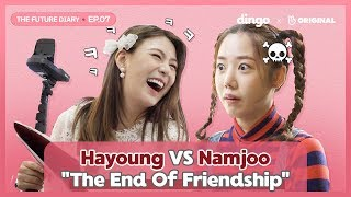 Apink Namjoo & Hayoung Declared War On Each Other [The Future Diary_EP.07] • ENG SUB • dingo kdrama
